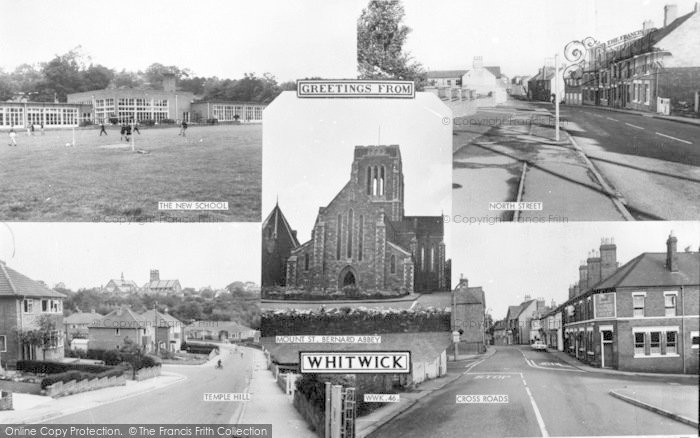 Photo of Whitwick, Composite c.1965
