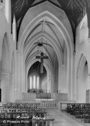 East Nave, Mount St Bernard Abbey c.1939, Whitwick