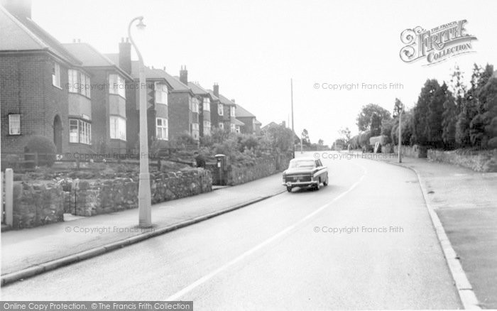 Photo of Whitwick, Hall Lane c.1965