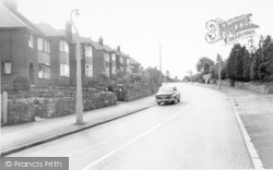 Hall Lane c.1965, Whitwick