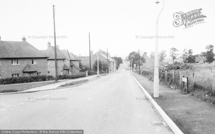 Photo of Whitwick, Leicester Road c.1965