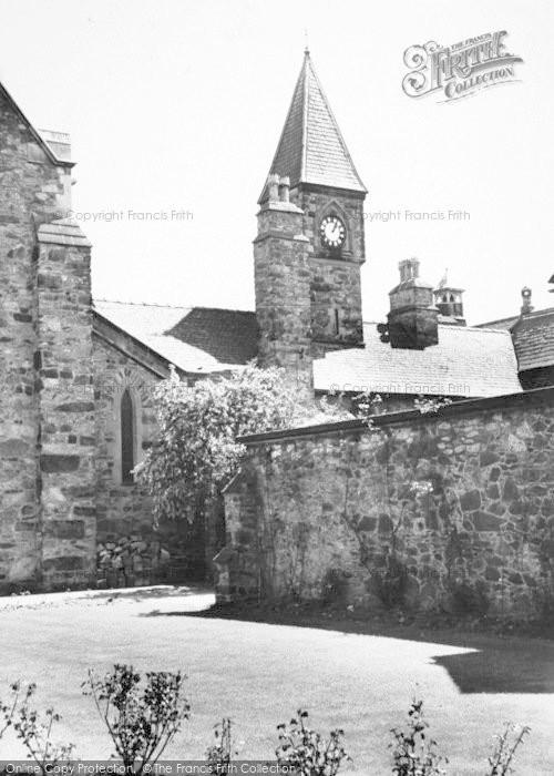 Photo of Whitwick, Mount St Bernard Abbey, Clock Tower c.1965