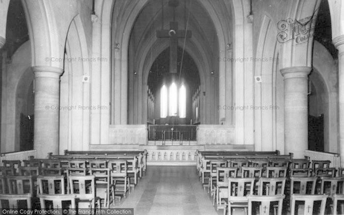 Photo of Whitwick, Mount St Bernard Abbey Interior c.1965