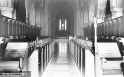 Whitwick, Mount St Bernard Abbey Interior c.1965