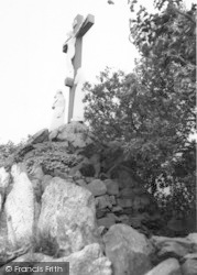 Whitwick, Mount St Bernard Abbey, The Calvary c.1965