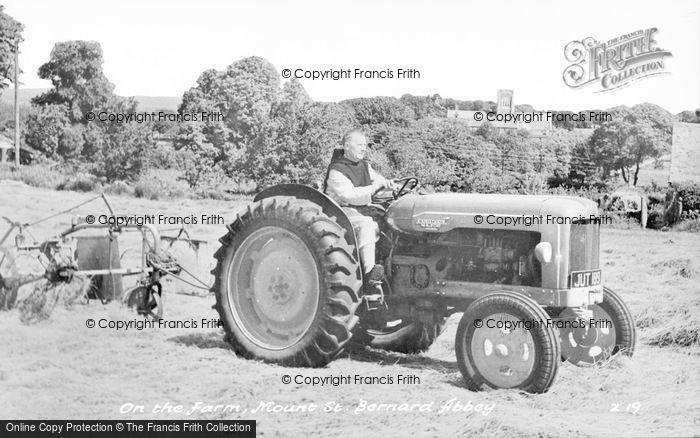 Photo of Whitwick, On The Farm, Mount St Bernard Abbey c.1955