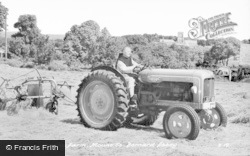 Whitwick, On The Farm, Mount St Bernard Abbey c.1955