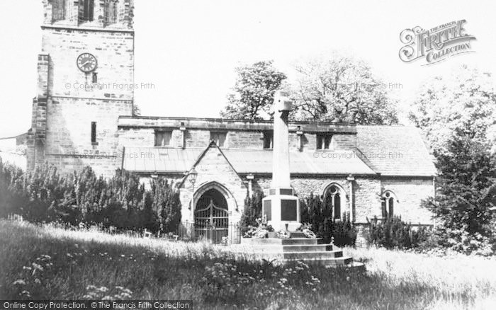 Photo of Whitwick, St John The Baptist Church c.1950