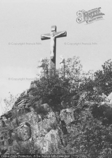 Photo of Whitwick, The Calvary, Mount St Bernard Abbey c.1965