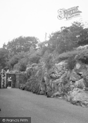 Whitwick, The Calvary, Mount St Bernard Abbey c.1965