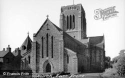The Church,  Mount St Bernard Abbey c.1939, Whitwick