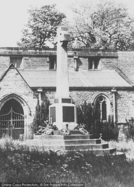 Photo of Whitwick, The Memorial c.1950