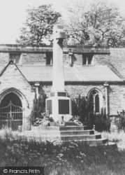 Whitwick, The Memorial c.1950