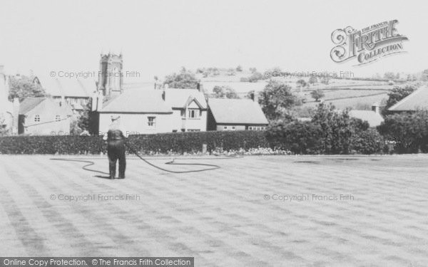 Photo of Whitwick, The Park, Watering The Lawns c.1960