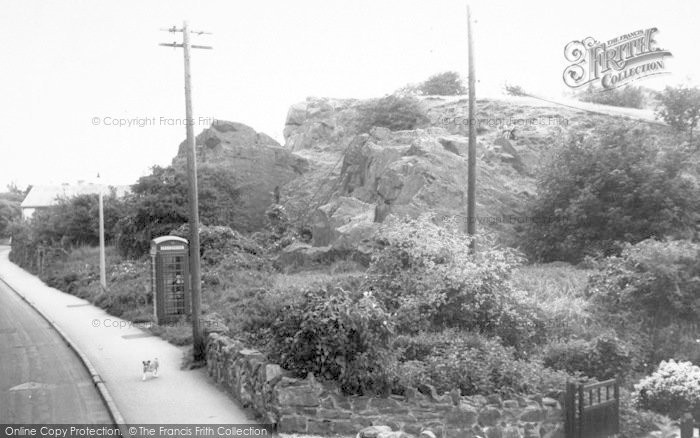 Photo of Whitwick, The Rocks c.1965