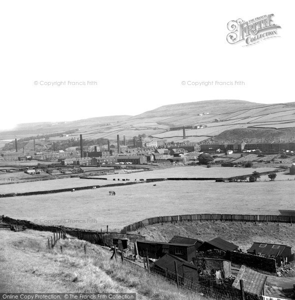 Photo of Whitworth, From Sunny Bank 1951