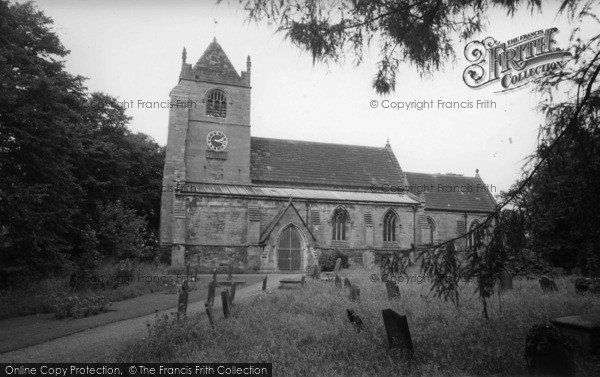 Photo of Whixley, The Church c.1965