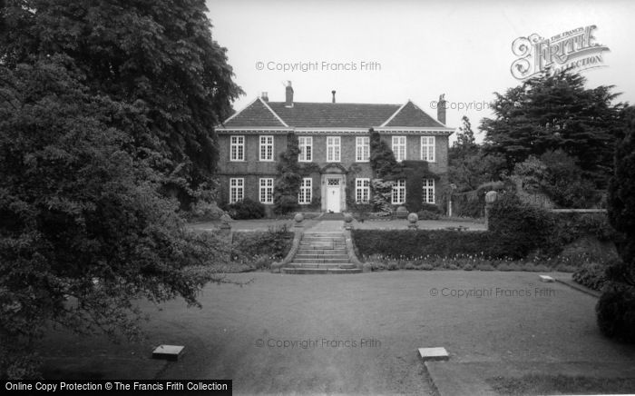 Photo of Whixley, Whixley Hall c.1965