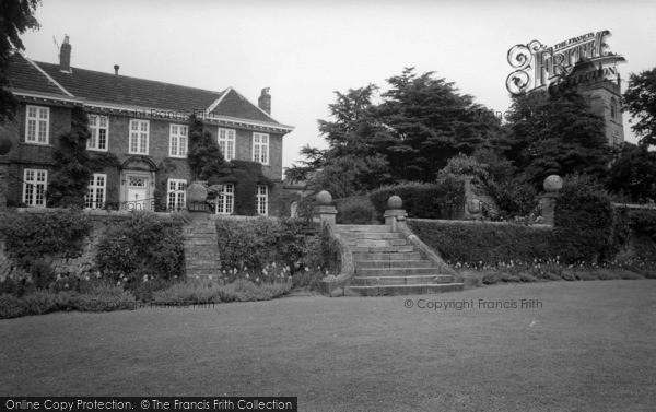 Photo of Whixley, Whixley Hall c.1965