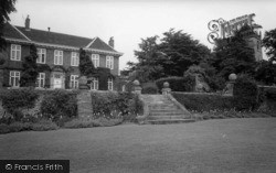 Whixley Hall c.1965, Whixley