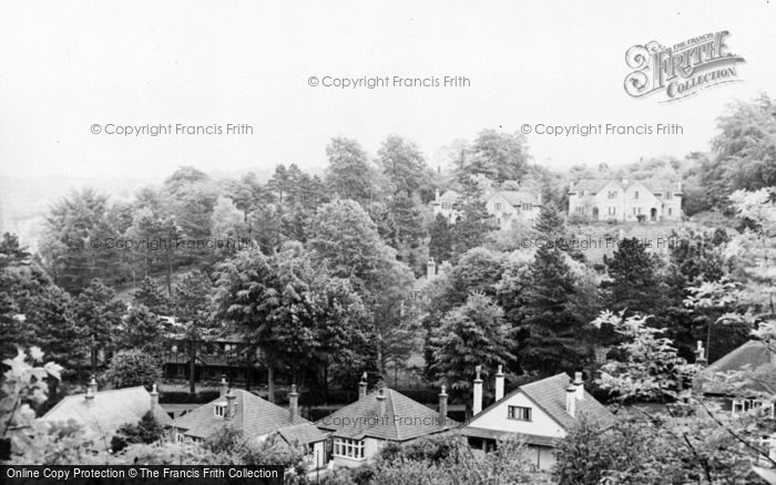 Photo of Whyteleafe, Bethany Homes From Kenley Common c.1955