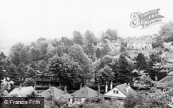 Bethany Homes From Kenley Common c.1955, Whyteleafe
