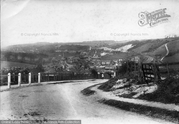 Photo of Whyteleafe, From Westhall 1907