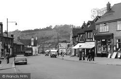 Whyteleafe, Godstone Road c.1955