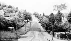 Whyteleafe, Hilltop Road c.1955