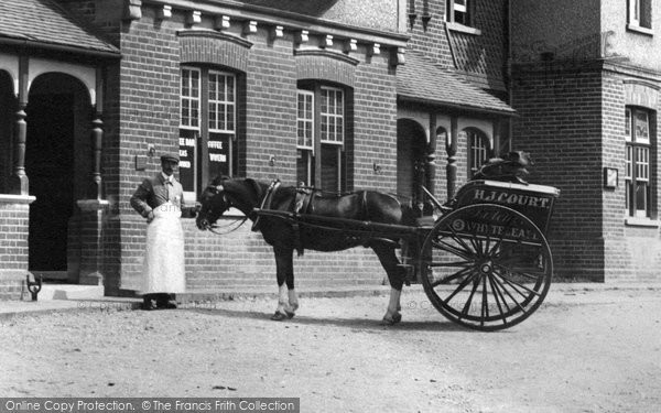 Photo of Whyteleafe, Horse And Cart 1907