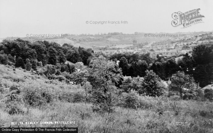 Photo of Whyteleafe, Kenley Common c.1955