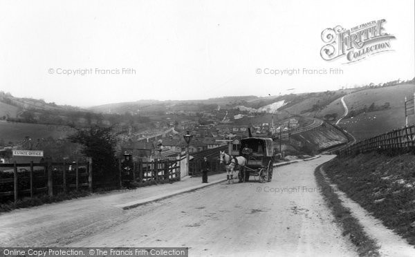 Photo of Whyteleafe, Looking North 1907