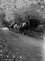Morning Ride c.1960, Whyteleafe