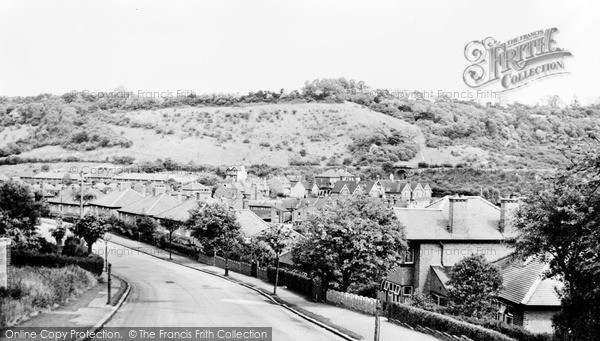 Whyteleafe, Mosslea Road c1955