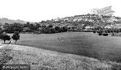Recreation Ground Looking East c.1955, Whyteleafe