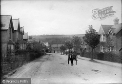 Whyteleafe, Station Road 1907