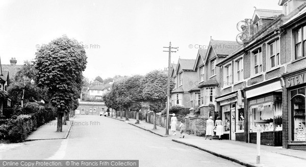 Whyteleafe, Station Road c1955