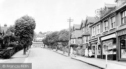 Whyteleafe, Station Road c.1955