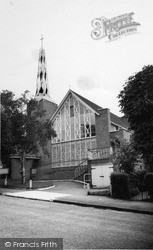 Whyteleafe, The Catholic Church Of St Thomas Of Canterbury c.1960