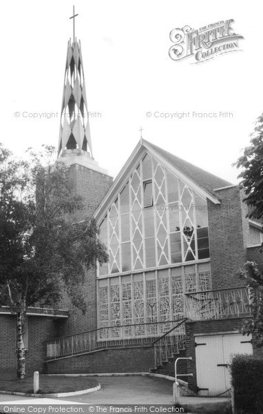 Photo of Whyteleafe, The Church c.1960