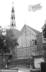 The Church c.1960, Whyteleafe