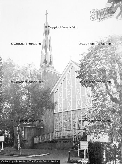 Photo of Whyteleafe, The Church Of St Thomas Of Canterbury c.1960