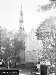 The Church Of St Thomas Of Canterbury c.1960, Whyteleafe