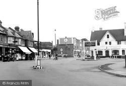 The Square c.1950, Whyteleafe