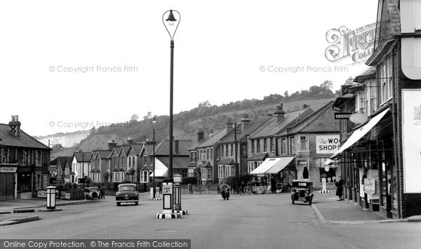 Photo of Whyteleafe, The Square c.1955