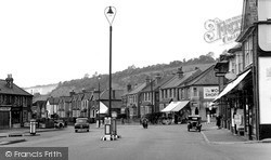 The Square c.1955, Whyteleafe
