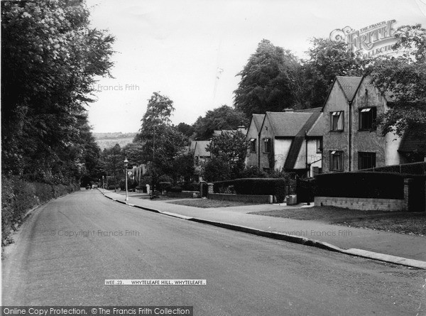 Photo of Whyteleafe, Whyteleafe Hill c.1955