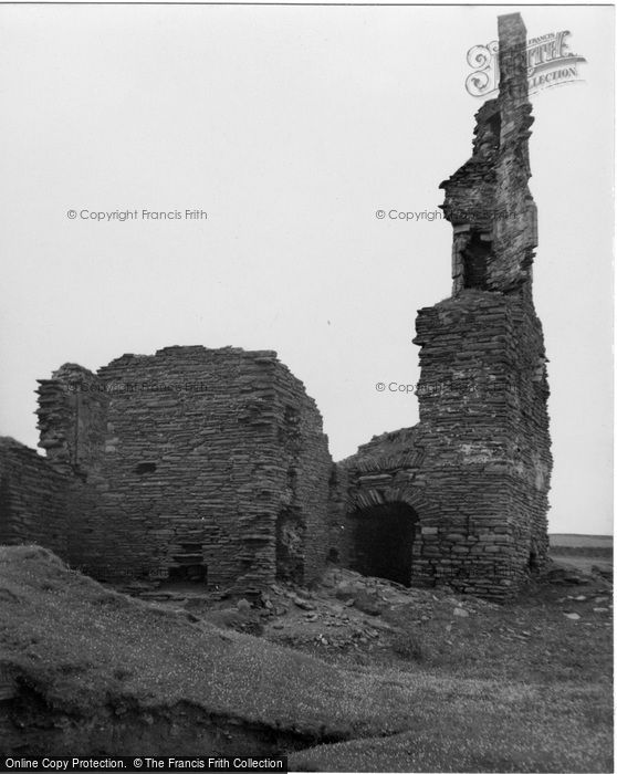 Photo of Wick, Castle Sinclair 1952