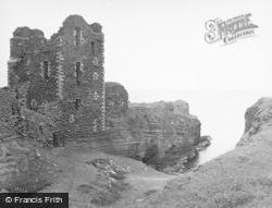 Wick, Girnigoe Castle 1952