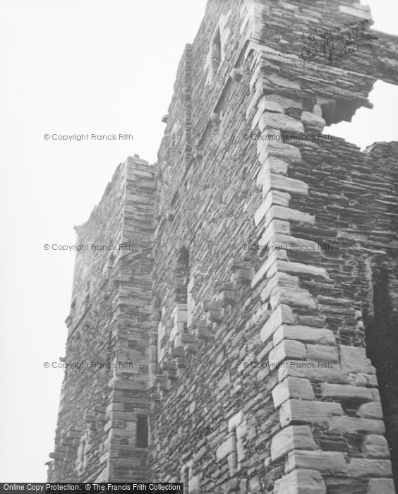 Photo of Wick, Girnigoe Castle 1952